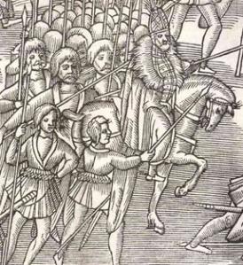 Kerne: guerrilleros irlandeses del s. XVI