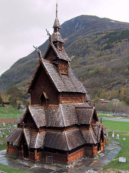 Stavkirke - Wikipedia, la enciclopedia libre